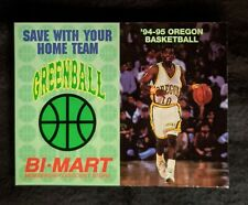 1994-95 University of Oregon Ducks Men's Basketball Schedule