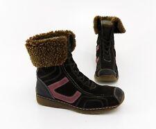 Stiefeletten Tamaris Winter Boots Schnürer Echtleder braun Gr. 39