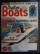 Trailer Boats Magazine March 2008 Sea Ray's Edgy Fun 210 Fission Mapping Units D