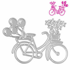 Album Bicycle Hot DIY Bike Craft Paper Card Cutting Dies Metal Scrapbook Stencil