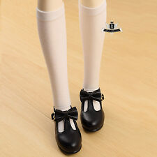 1/4 BJD Shoes MSD Dollfie Lolita bow black student Shoes DREAM Luts AOD DOD MID
