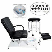 Pedicure Unit Station Hydraulic Chair Massage Foot Beauty Salon Equipment Tool