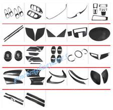 Carbon Fiber Car Interior Kit Cover Trim For Porsche 718 Cayman 2014-2018