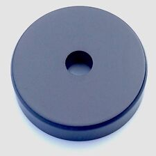 """1x Brand New Black Plastic 45 RPM Adapter 7'"""" Vinyl for Turntable Dinked Records"""