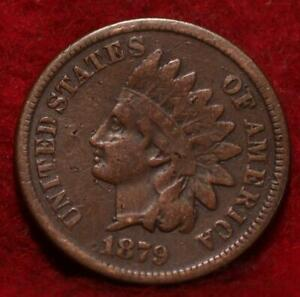 1879 Philadelphia Mint  Indian Head Cent