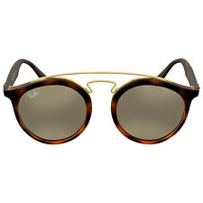 Ray Ban Gold Mirror Round Sunglasses