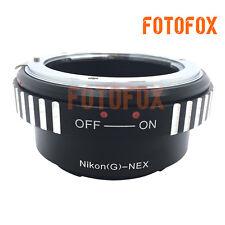 AI-NEX N/G-NEX Adapter Nikon AIG/D/F/AI/AIS Lens to Sony NEX A7S A7R A7II A6300