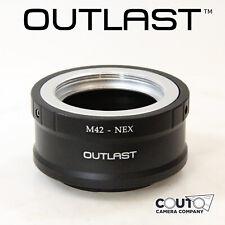 OUTLAST M42-NEX Adapter M42 Lens to Sony NEX E Mount Sony a7 a7II M42 Mount to E