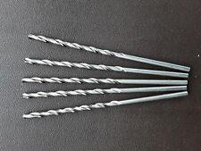4mm long hss drill bits ( pack of 5) metal,plastic,wood