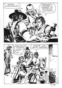 MORTIMER  6 (Ediperiodici, 1973) ORIGINAL ART page  36 by  VICTOR DE LA FUENTE