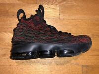 Lebron XV Black History Month (BHM) Shoes Size 3.5