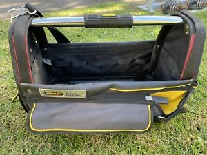 Stanley FatMax Pro Large Open Tote Tool Bag Tradie Carry Electrical Tough Xtreme