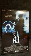 Artificial Intelligence movie poster - Steven Spielberg
