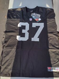 NEW AUTHENTIC NIKE OAKLAND RAIDERS LESTER HAYES JERSEY SZ 56 3X NFL VEGAS