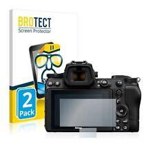 Schutzfolie Transparent für Nikon Z 6 II Klar Displayschutzfolie 2x
