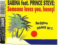 SABINA ft PRINCE STEVE - Someone loves you, honey! CDM 4TR Eurodance Ragga 1995