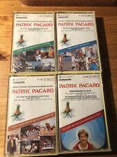 Kassette MC Patrick Pacard Patrik, 4 Stück