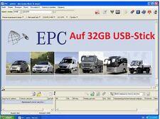 Stick USB con Mercedes Benz 2015 2016 EPC wis asra por completo en alemán
