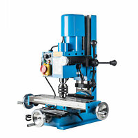 Mini Drilling & Milling Machine 600W Motor Extra Wide Cross Table