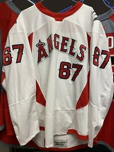 RICKARD RAKELL ANGELS Game Worn Used WARMUP Jersey ANAHEIM DUCKS Angels Night