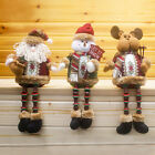 Santa Claus Snowman Deer Christmas Gift Ornaments Xmas Toy Home Decor Hot Sale