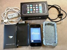 APPLE iPhone 3GS 16GB Black Mobile Cell Smart Phone A1303 AT&T +Box Case Charger