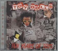 THE TOY DOLLS - TEN YEARS OF TOYS - (still sealed cd) - AHOY CD 206