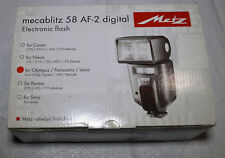 Metz Mecablitz 58 AF-2 Digital Shoe Mount Flash for Olympus or Panasonic