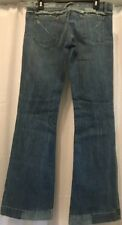 The Limited Express X2 Size 29 Distressed Jeans Fit Flare Wide Jeans Sparkles
