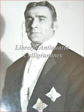 ALBERTO LUPO ZOBOLI Grande Ritratto Fotografia TV RAI Tinto Brass Falqui Majano