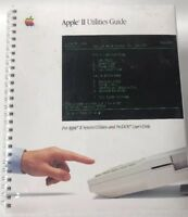 Vintage Apple II Utilities Guide 1985 New In Package Sealed Manual Book Software