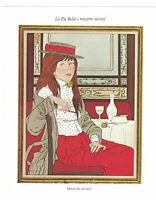 Philippe Noyer La Piu Bella Signed Lithograph in 10 colors Arts-Litho Paris 1974