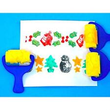 Christmas Shapes Sponge Painting Rollers AP/2020/SRC
