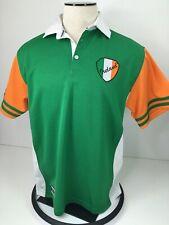 Croker Sport Men's Rugby Jersey Ireland Size L Green White