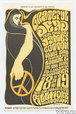 Bill Graham 38 Postcard Grateful Dead James Cotton Blues Band 1966 Nov 18