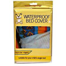 BED WETTING WATERPROOF SHEET BABY CHILD SINGLE MATTRESS COT COVER PROTECTOR 02B
