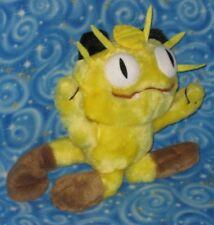 Vintage Rare Fuzzy Meowth Pokemon Plush Tomy New Condition Next Day USA Shipping