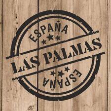 Vinilo de Corte Las Palmas Pegatina Las Palmas España 10 cm Adhesivo Pared