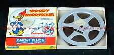 Castle Films 509 Woody Woodpecker OPERATION SAWDUST 5½ inch reel 8mm film
