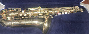 Vintage Conn Shooting Star Alto Saxophone Made in Mexico - Very Nice Shape!