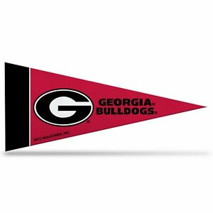 Georgia Bulldogs NCAA Mini Pennant 9X4 inch, felt