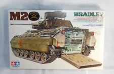 Tamiya M2 Bradley Military Tank 1/35 Scale Plastic Model Kit New SEALED
