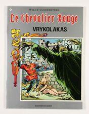 BD prix réduit Chevalier Rouge (Le) Vrykolakas Editions Erasme