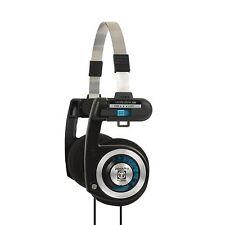 Koss PortaPro Stereo Cuffie cablate design pieghevole KH4001-Nero e Argento