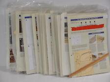 Modellbau Die Titanic Hachette 3 Bauanleitungen + Bauteile aus Liste bis Nr. 96
