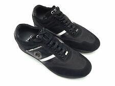 C'N'C COSTUME NATIONAL BLACK LACE UP SNEAKERS SIZE 10 U.S / 43 EUR