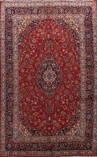 Vintage Hand-knotted Floral Ardakan Area Rug Dining Room Wool Large Carpet 10x14