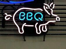 "New Bbq Pig Beer Bar Neon Light Sign 24""x20"""
