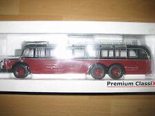 PC Mercedes Benz Bus MB O 10000 in dunkerot / schwarz  lim. 1000, M 1:43, 12300