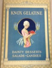 Vintage cookbook Knox gelatine cookbook FREE SHIPPING INV-P1143